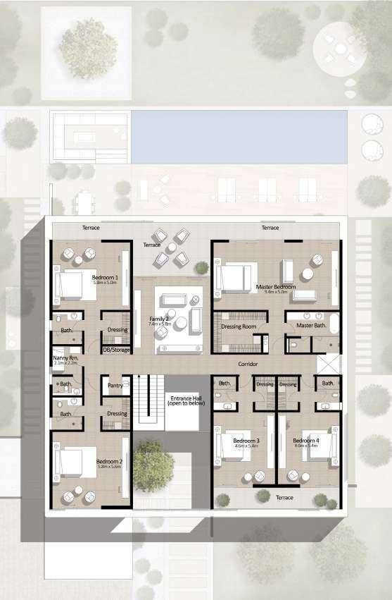 floor plan num. 2,689