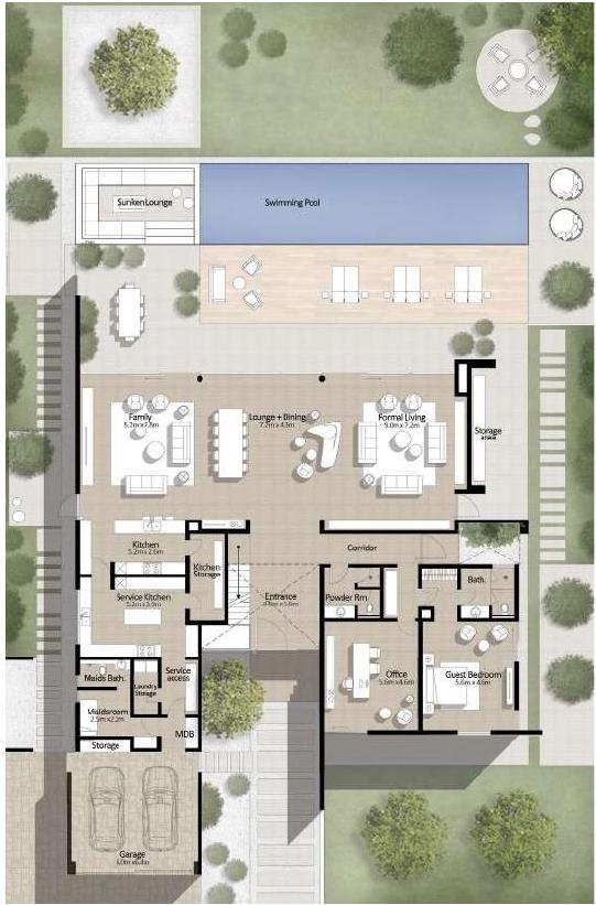 floor plan num. 2,663