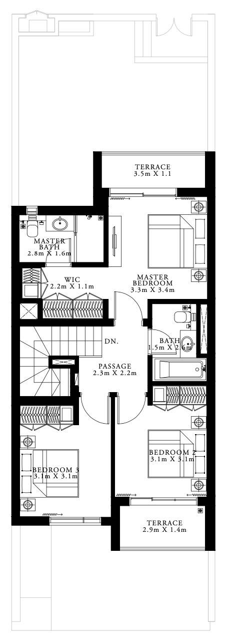 floor plan num. 3,198