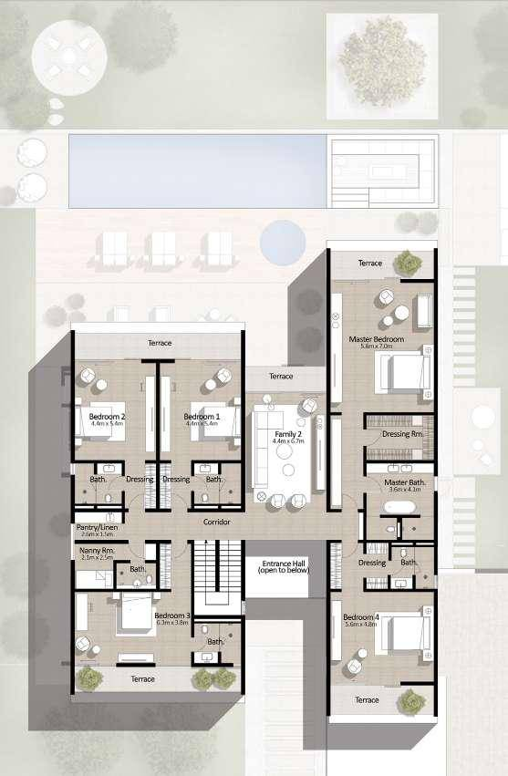 floor plan num. 2,698