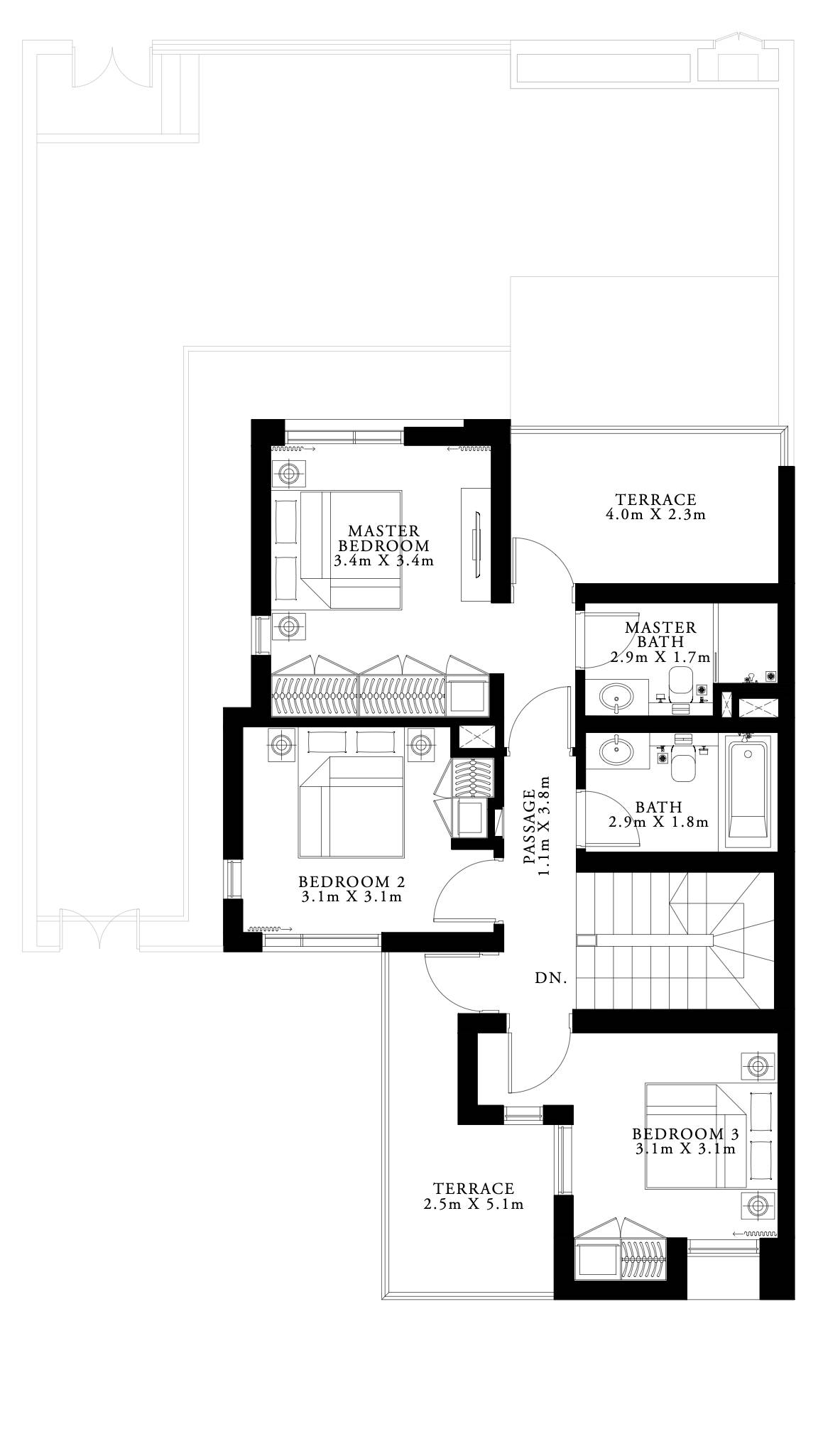 floor plan num. 3,892