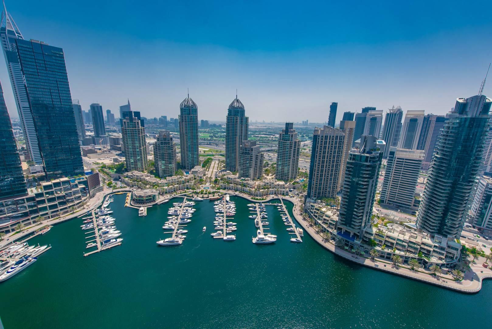 Maid's Room | Dubai Marina View | Balcony