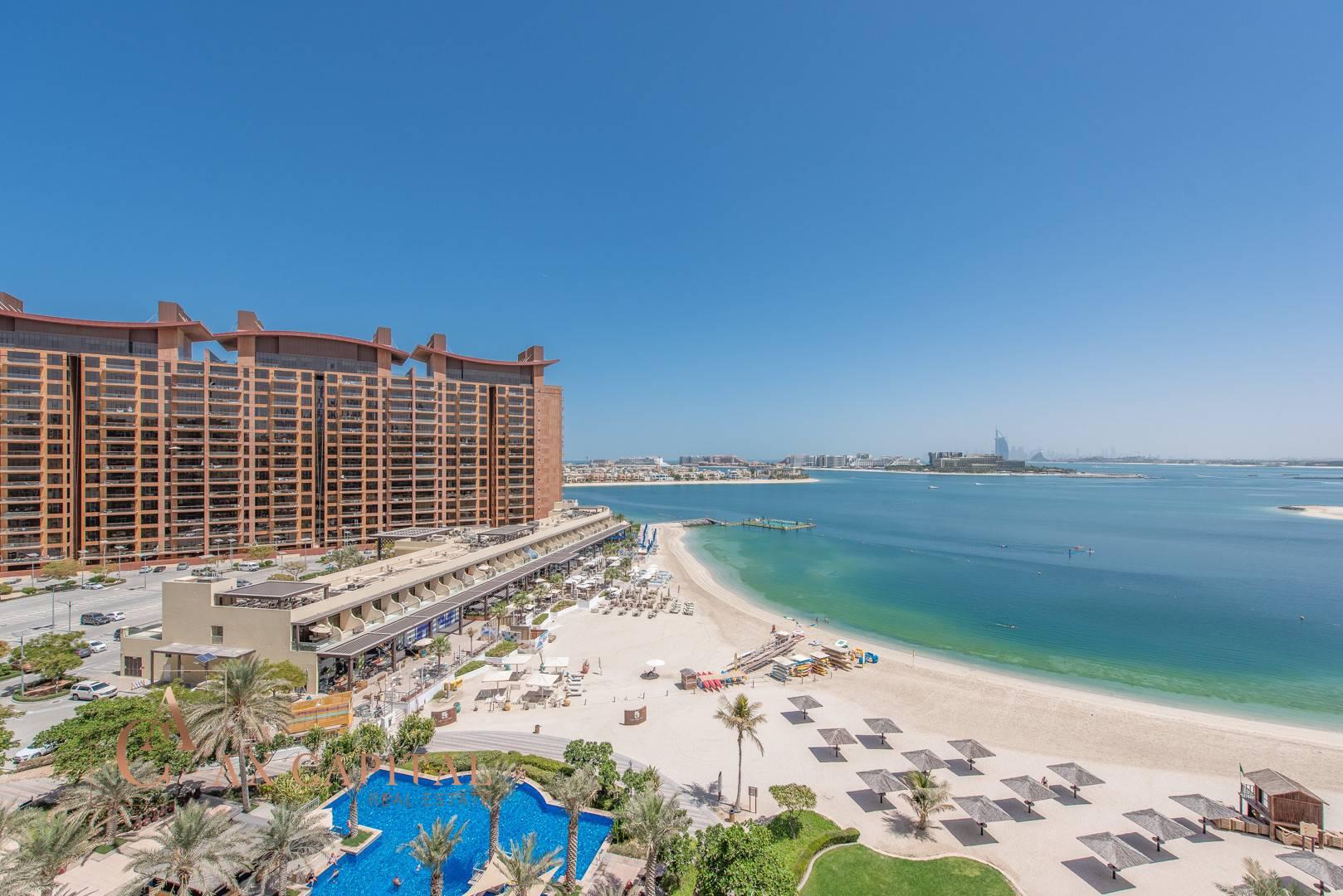 Panoramic Sea View | Beach Access | Maids Room