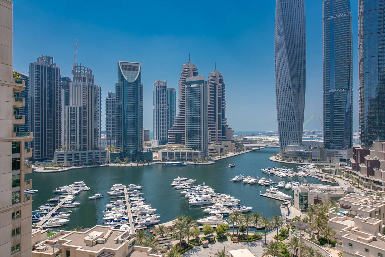 Dubai Marina View | Study Room | Unfurnished