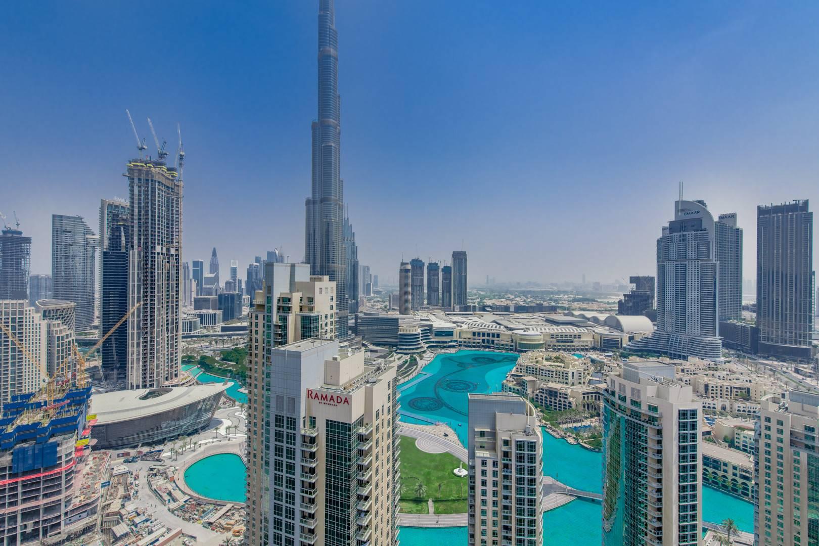 Full Fountain View | Burj Khalifa | Furnished