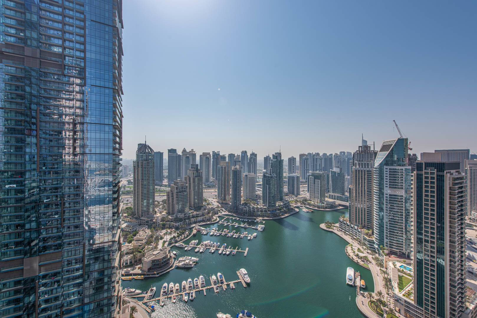 Furnished | Dubai Marina View | Balcony
