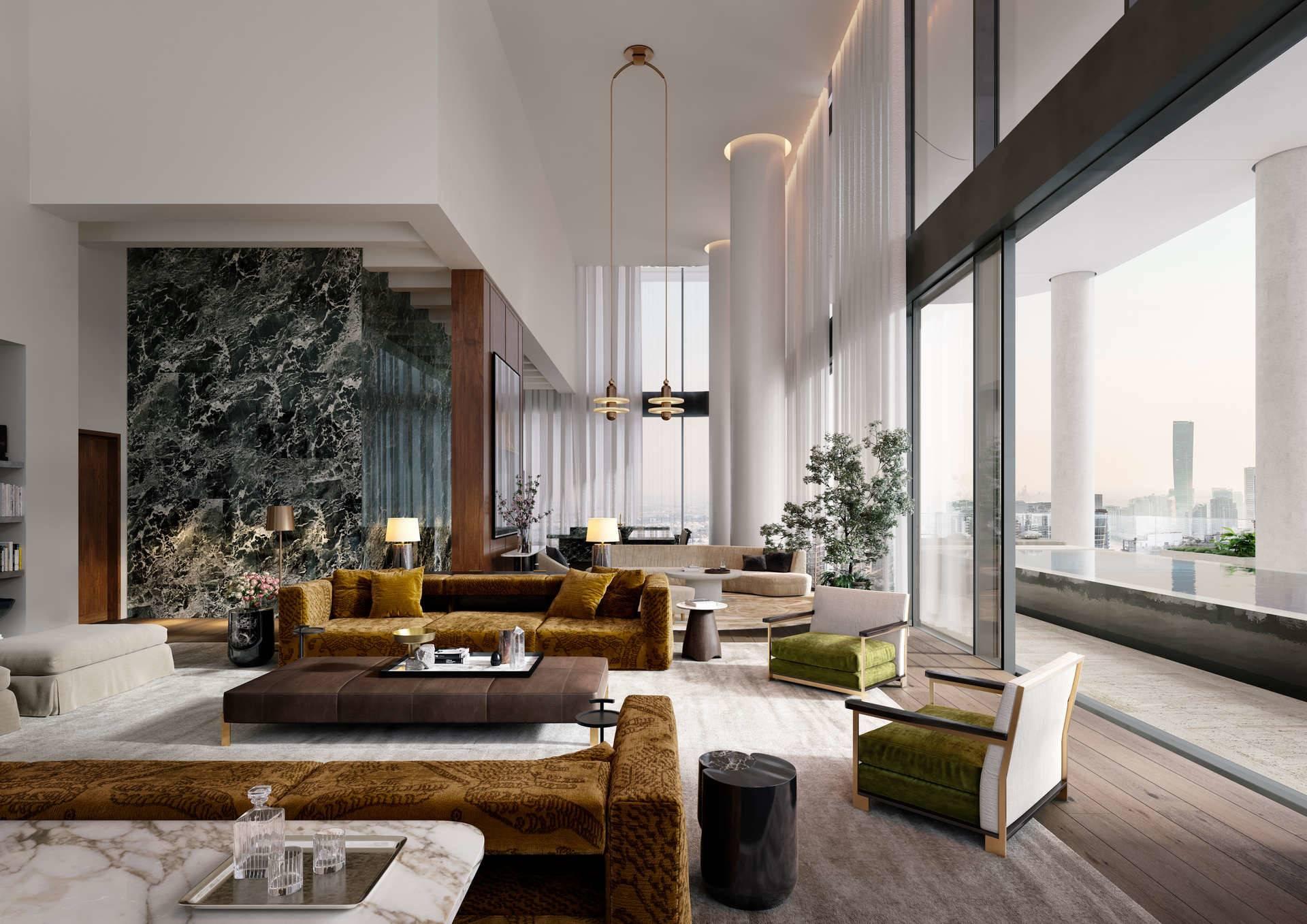 Penthouse Unit | High Ceiling | Luxury & Style
