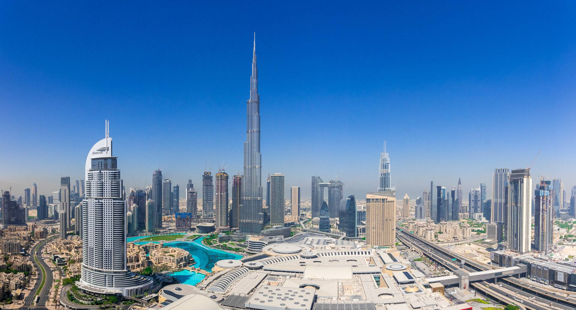 Burj Khalifa & Fountain View   Link to Dubai Mall