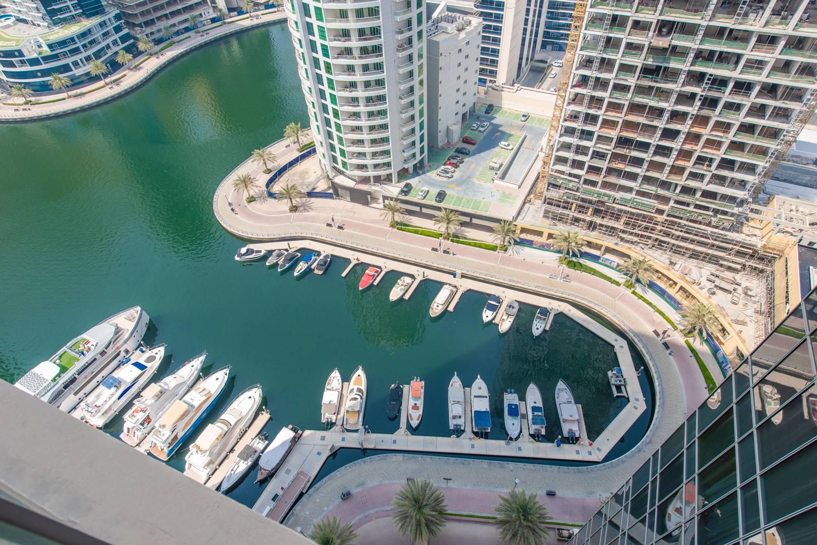 Fully Furnished | Community & Marina  View