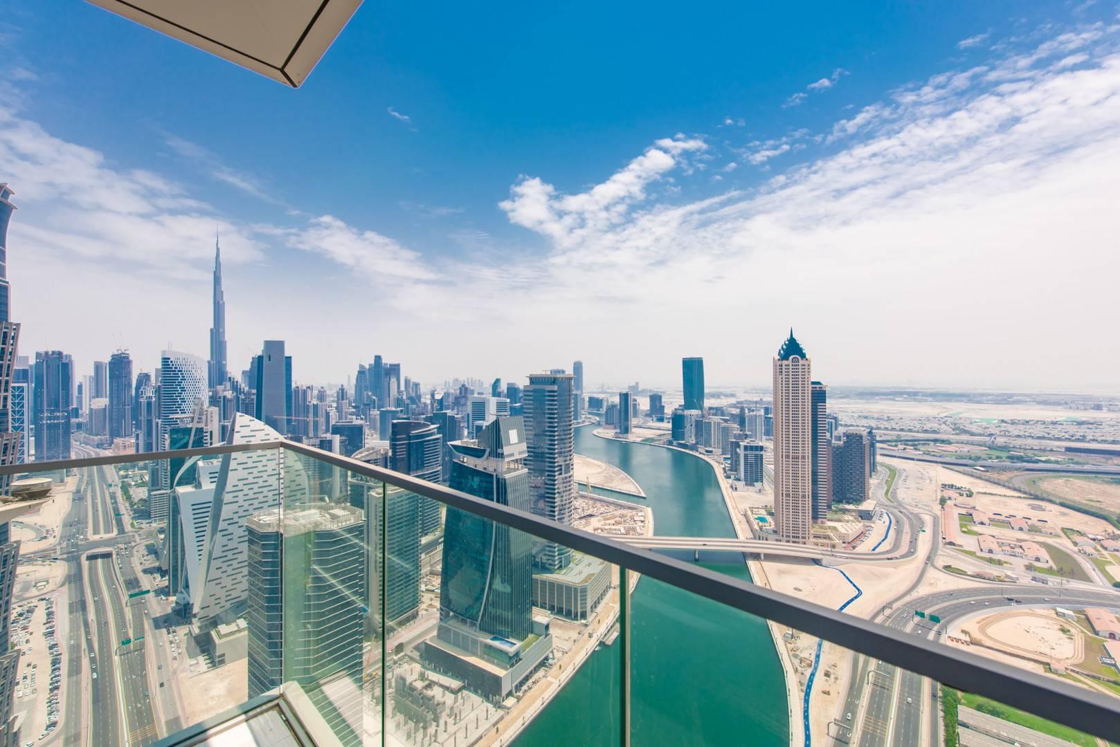 Canal View | Partial Burj Khalifa | Unfurnished
