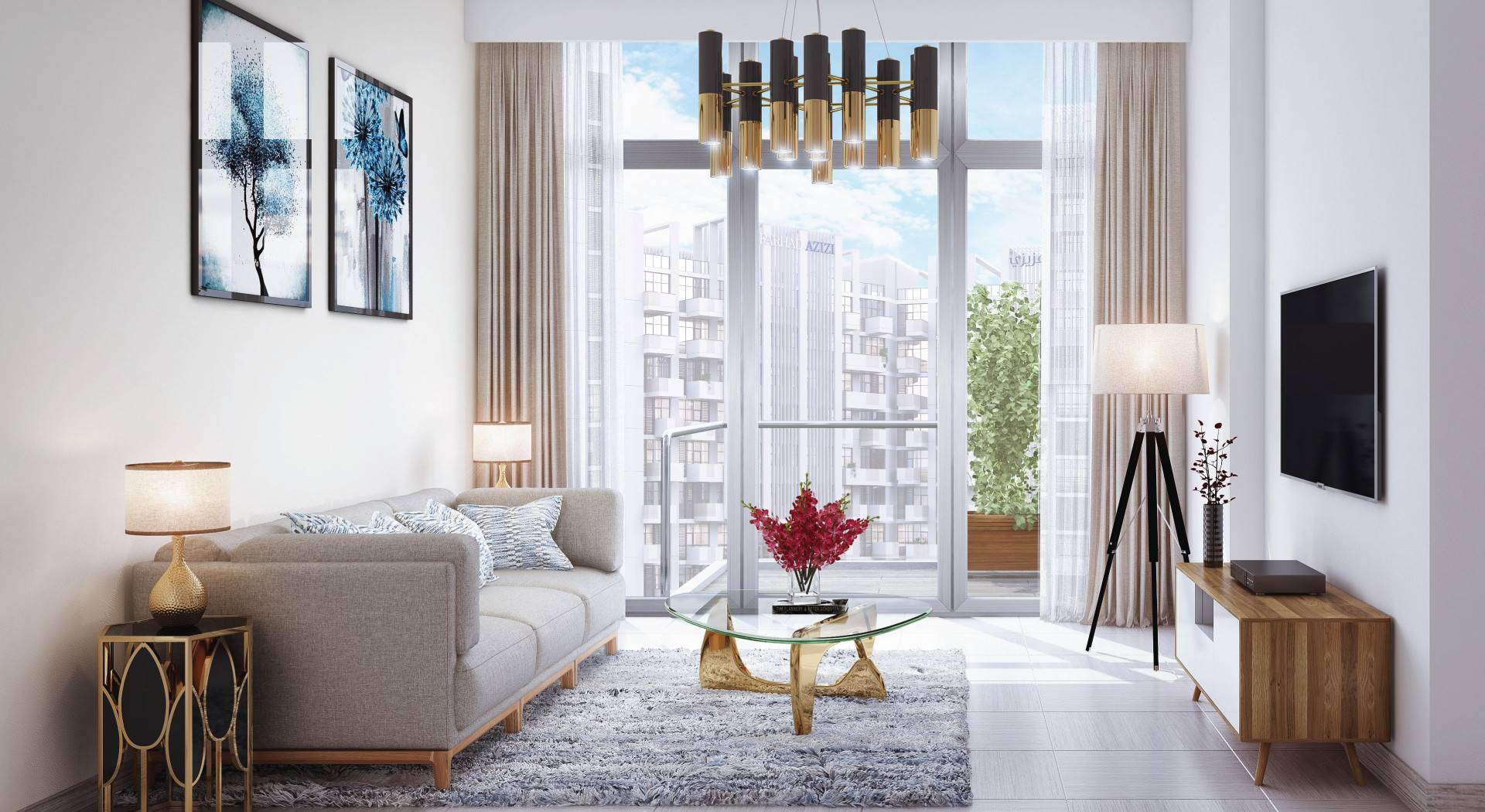 SALE in Farhad Azizi Residence-Dubai-UAE