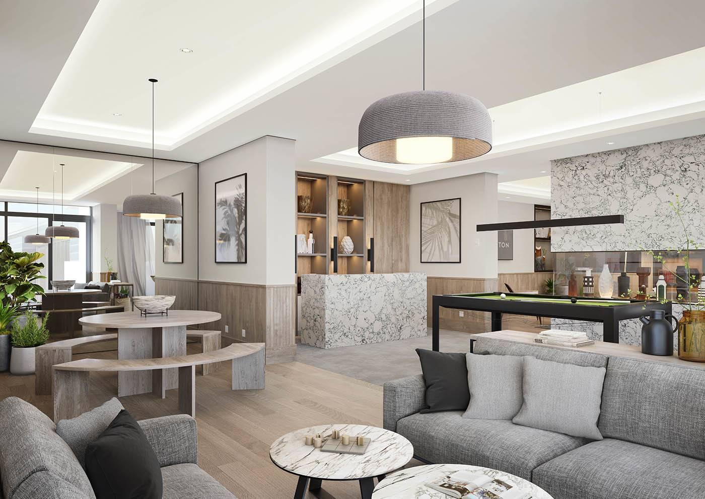 Striking Interiors | Chic Resident's Lounge