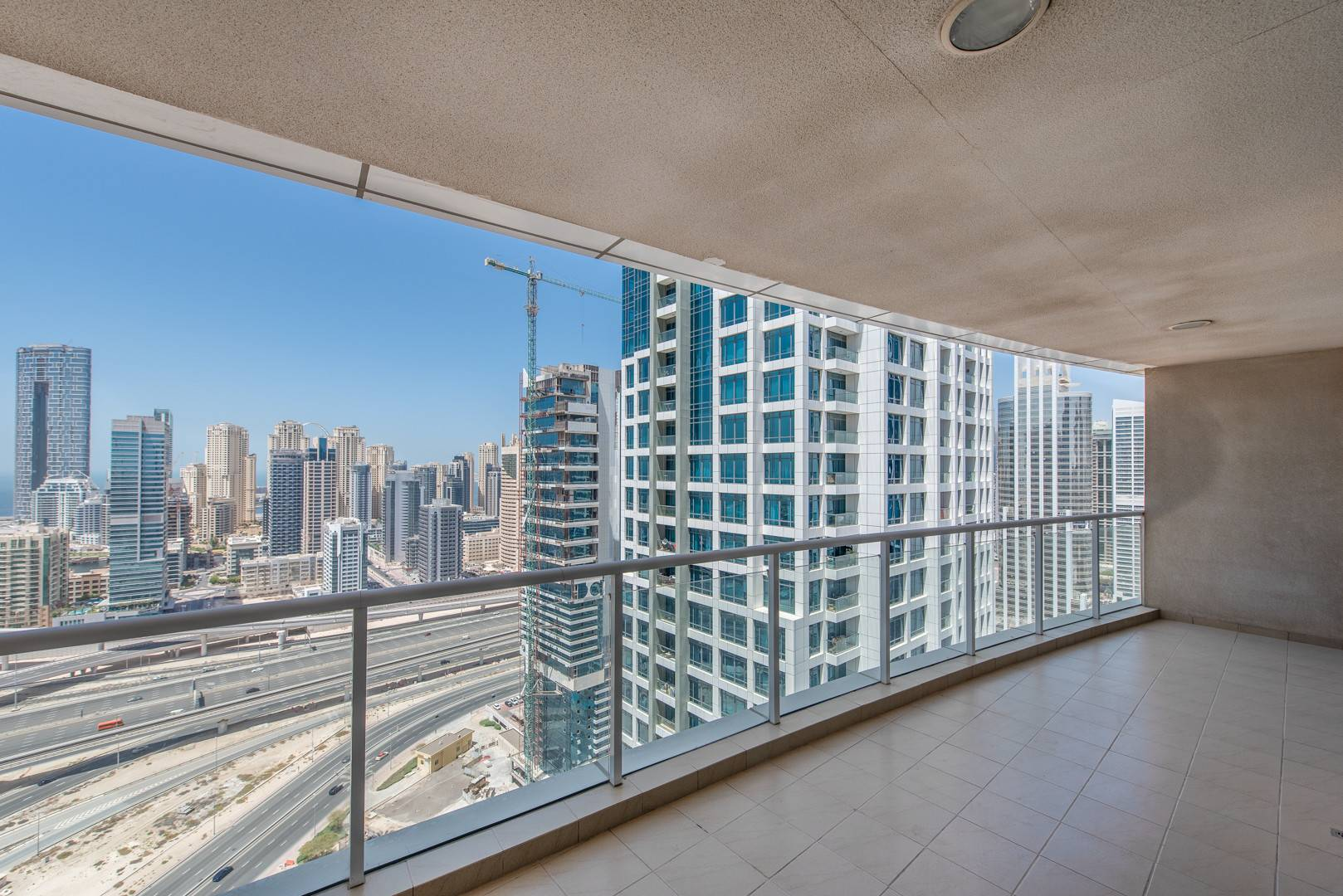 Community view   Unfurnished   Spacious Balcony