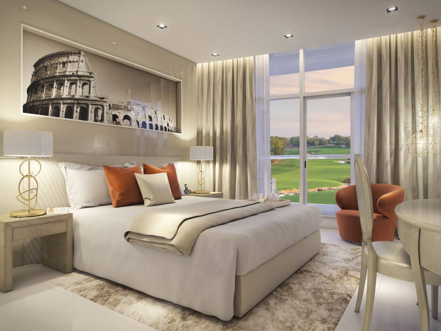 SALE in Royal Golf Villas-Dubai-UAE