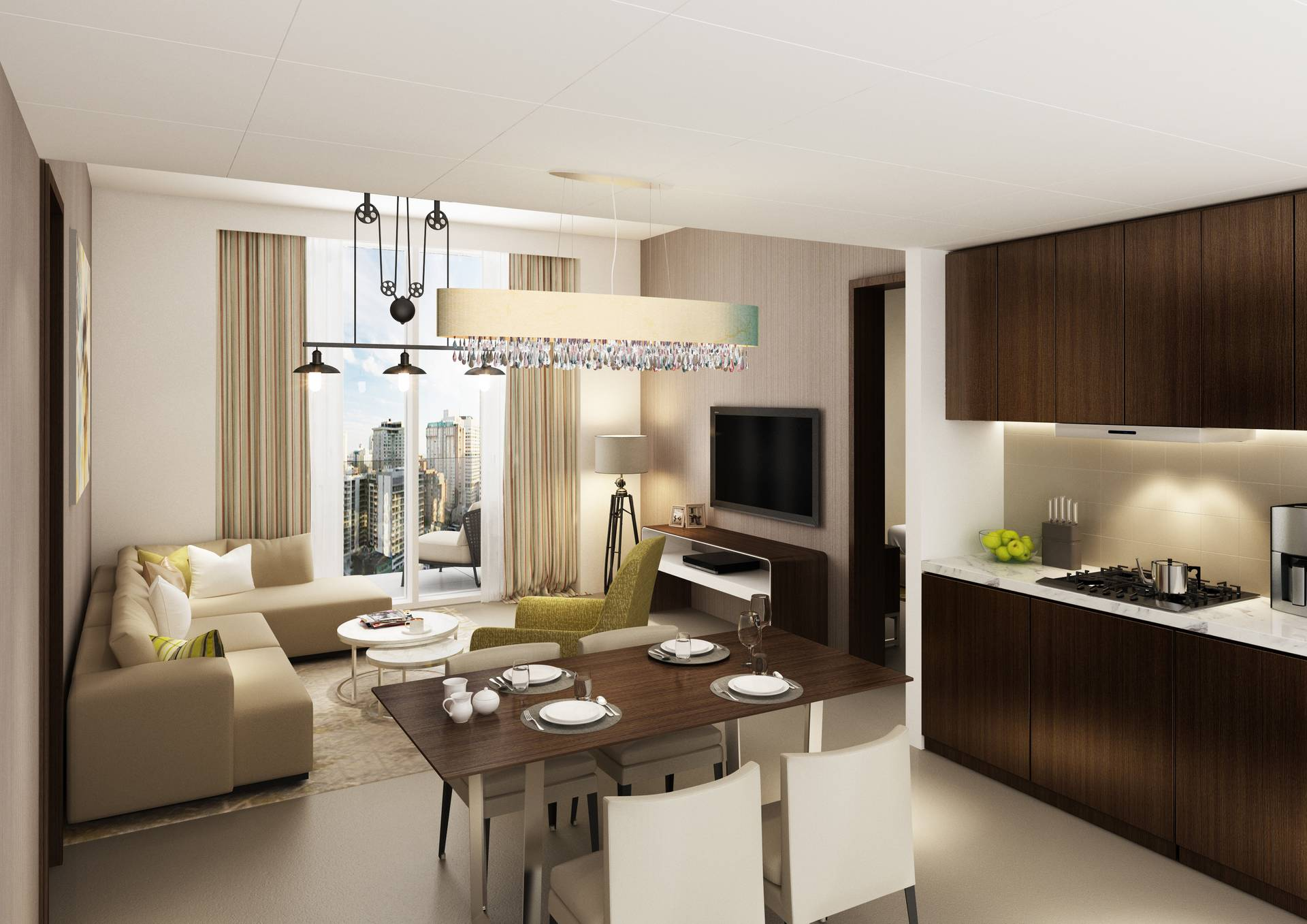 Dubai Canal View | Fitted Kitchen | Luxury