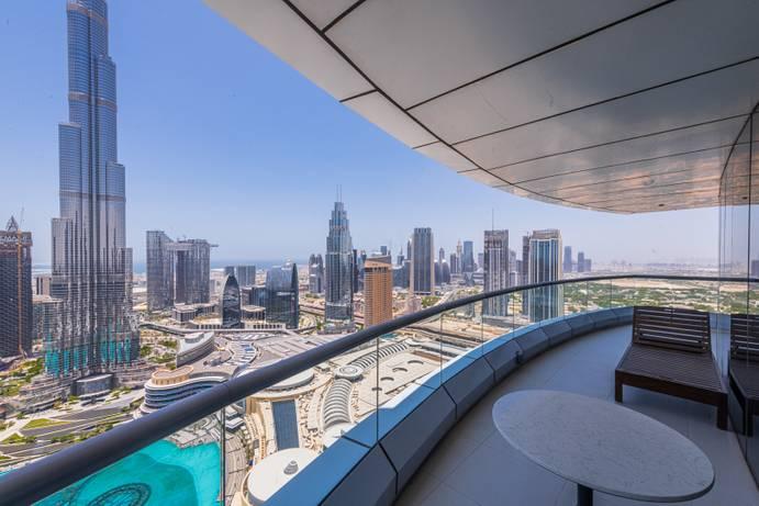 АРЕНДА в The Address Downtown-Dubai-ОАЭ