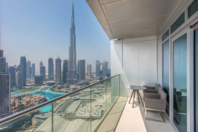 АРЕНДА в The Address Residence Fountain Views 1-Дубай-ОАЭ