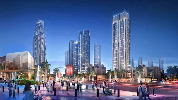 Продажа в Downtown Views II-Dubai-ОАЭ