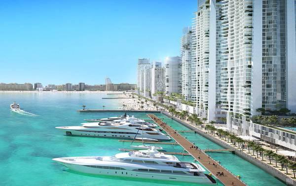 Продажа в Beach Vista-Dubai-ОАЭ