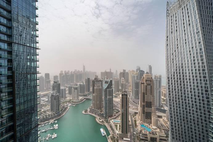 АРЕНДА в The Residences at Marina Gate-Дубай-ОАЭ