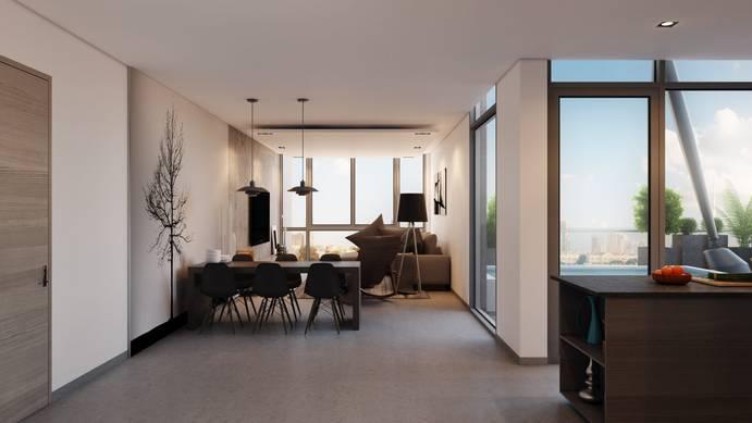 Продажа в Signature Livings-Dubai-ОАЭ