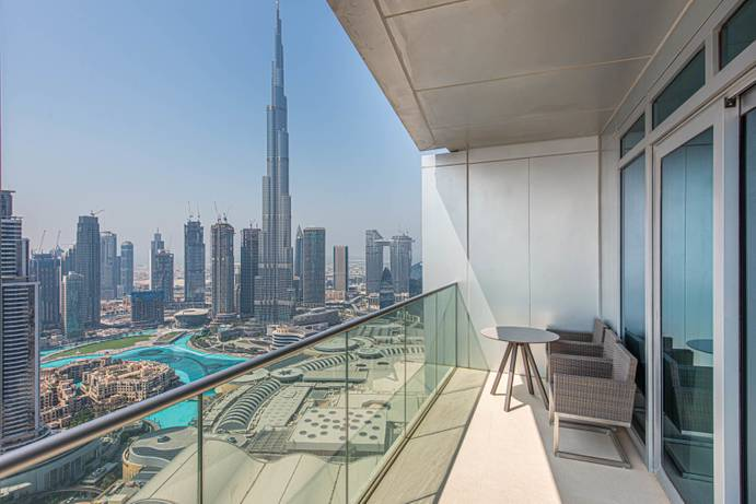 RENT in The Address Residence Fountain Views 1-Dubai-UAE